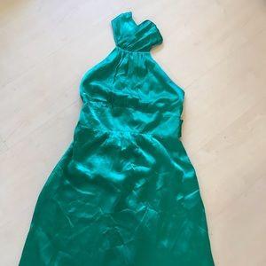 Betsey Johnson Dresses - Betsey Johnson Emerald halter dress